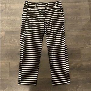 LOFT Riviera Marisa Fit Striped Pants